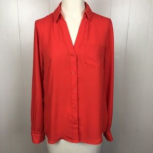 The Limited Red Blouse Sz. S